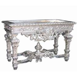 Delicieux Silver Table