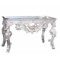 Ordinaire Silver Table